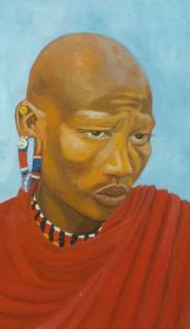 No. 25 - Masaai Warrior
