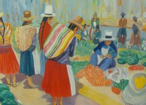 No. 32 - Market At Chinchero