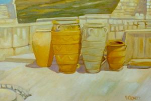No. 39 - Amphorae At Knossos