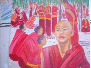 Debating Monks, Tibet