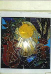 Stained Glass Window Nursing Home Carraroe