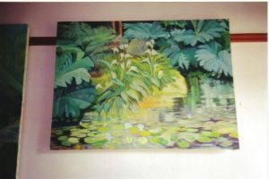 Water Garden - Kerry - oil